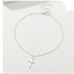 3/$30 Silver Cross Bracelet